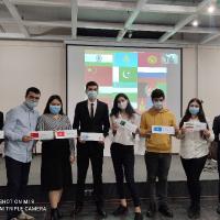 Первое заседание  «Молодежного Саммита ШОС» в Клубе молодежи мира, 2020